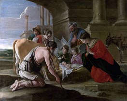 The Adoration of the Shepherds, c.1640 by Le Nain Brothers | Painting Reproduction