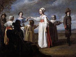 Children Dancing | Le Nain Brothers | Painting Reproduction