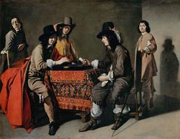 Tric-Trac Players, undated by Le Nain Brothers | Painting Reproduction