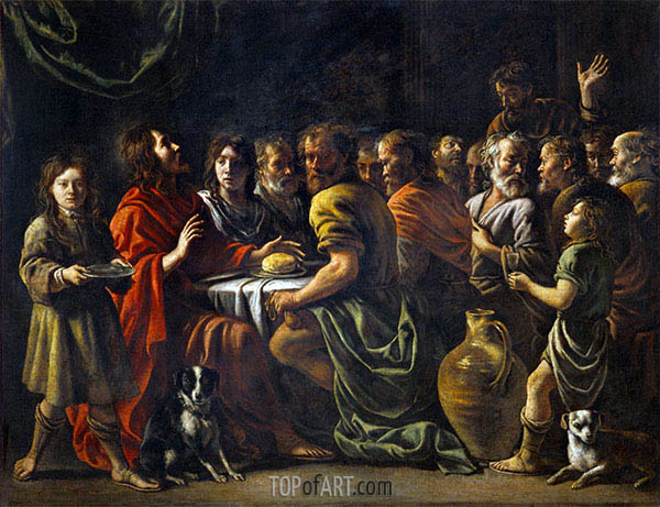 Last Supper, c.1620/48 | Le Nain Brothers | Painting Reproduction
