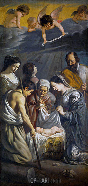 Adoration of the Shepherds, c.1630/32 | Le Nain Brothers | Painting Reproduction