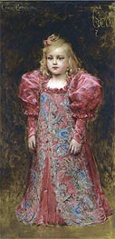 Girl in Costume, undated by Leon Comerre | Painting Reproduction