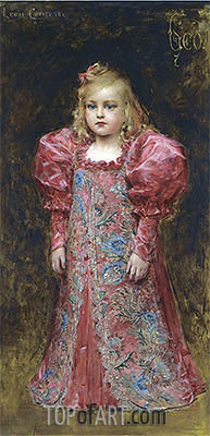 Girl in Costume, undated | Leon Comerre | Painting Reproduction