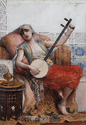Odalisque, 1887 | Leon Comerre | Painting Reproduction