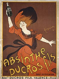 Absinthe Ducros fils, 1901 by Leonetto Cappiello | Painting Reproduction