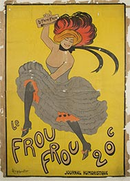 Le Frou Frou, 1899 by Leonetto Cappiello | Painting Reproduction