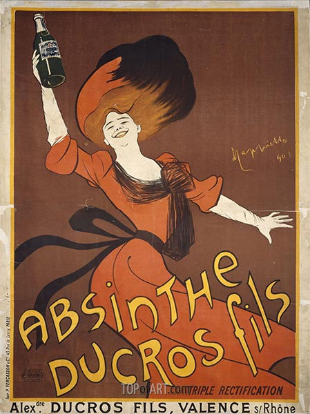 Absinthe Ducros fils, 1901 | Leonetto Cappiello | Painting Reproduction