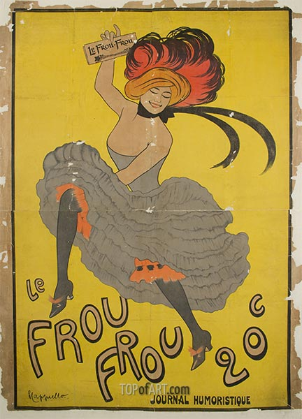 Le Frou Frou, 1899 | Leonetto Cappiello | Painting Reproduction