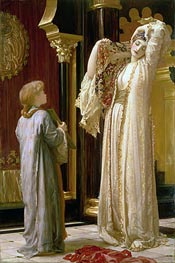 Light of the Harem (The Fairest of Them All), c.1880 by Frederick Leighton | Painting Reproduction