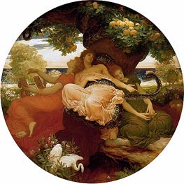 The Garden of the Hesperides | Frederick Leighton | Gemälde Reproduktion