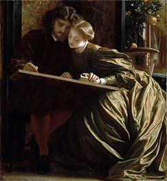 The Painter's Honeymoon | Frederick Leighton | Gemälde Reproduktion