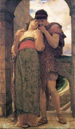 Wedded, 1882 by Frederick Leighton | Painting Reproduction