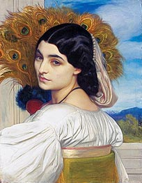 Pavonia | Frederick Leighton | Painting Reproduction