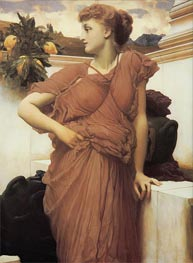 At the Fountain, c.1891/92 by Frederick Leighton | Painting Reproduction