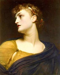Antigone, 1882 by Frederick Leighton | Painting Reproduction