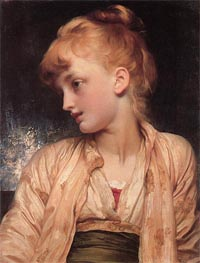 Gulnihal, c.1886 by Frederick Leighton | Painting Reproduction
