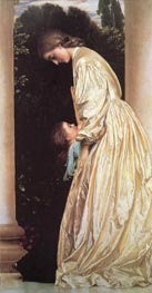 Sisters, c.1862 by Frederick Leighton | Painting Reproduction