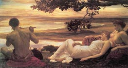Idyll, c.1880/81 by Frederick Leighton | Painting Reproduction