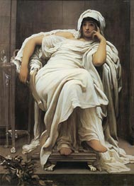 Fatidica, 1894 by Frederick Leighton | Painting Reproduction