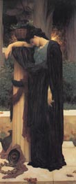 Lachrymae (Mary Lloyd), c.1894/95 by Frederick Leighton | Painting Reproduction