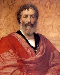 Self Portrait, 1880 by Frederick Leighton | Painting Reproduction