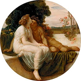 Acme and Septimus, c.1868 von Frederick Leighton | Gemälde-Reproduktion