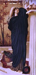Electra at the Tomb of Agamemnon | Frederick Leighton | Gemälde Reproduktion