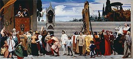 Cimabue's Madonna Carried in Procession | Frederick Leighton | Painting Reproduction