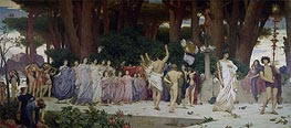 The Daphnephoria, c.1874/76 by Frederick Leighton | Painting Reproduction