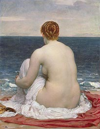 Psamanthe | Frederick Leighton | Painting Reproduction