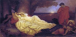 Cimon and Iphigenia, 1884 by Frederick Leighton | Painting Reproduction