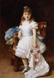 Lady Sybil Primrose, undated by Frederick Leighton | Painting Reproduction