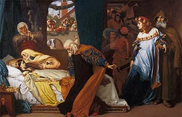 The Feigned Death of Juliet, c.1856/58 von Frederick Leighton | Gemälde-Reproduktion