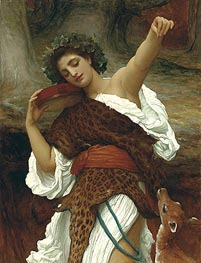 Bacchante | Frederick Leighton | Painting Reproduction