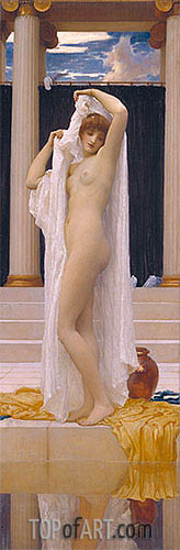 The Bath of Psyche, c.1890 | Frederick Leighton | Painting Reproduction