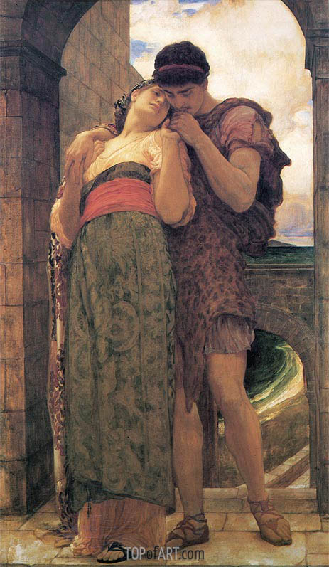 Wedded, 1882 | Frederick Leighton | Gemälde Reproduktion