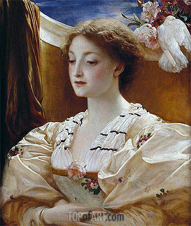 Bianca, 1862 | Frederick Leighton | Painting Reproduction