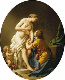 Pygmalion and Galatea, 1781 by Lagrenee | Painting Reproduction