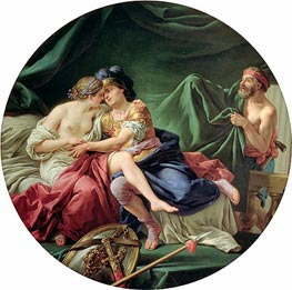 Mars and Venus Surprised by Vulcan, 1768 by Lagrenee | Painting Reproduction
