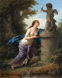 Offering for Cupid, 1775 by Lagrenee | Painting Reproduction