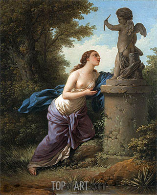 Offering for Cupid, 1775 | Lagrenee | Painting Reproduction