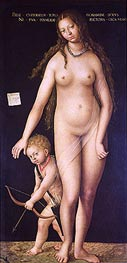 Venus and Cupid | Lucas Cranach | Painting Reproduction