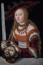 Judith with the Head of Holofernes | Lucas Cranach | Painting Reproduction