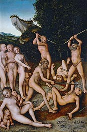 The Silver Age (The Effects of Jealousy) | Lucas Cranach | Painting Reproduction