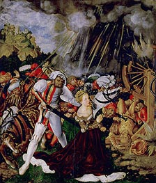 The Martyrdom of St Catherine | Lucas Cranach | Painting Reproduction