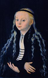 Magdalena Luther | Lucas Cranach | Gemälde Reproduktion