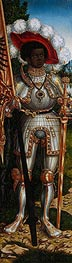 Saint Maurice, c.1522/25 by Lucas Cranach | Painting Reproduction