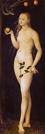 Eve, 1528 by Lucas Cranach | Painting Reproduction