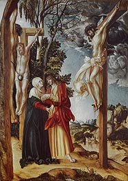 Crucifixion, 1503 by Lucas Cranach | Painting Reproduction
