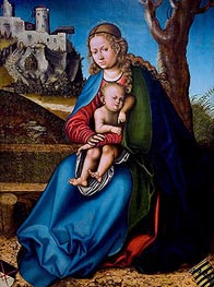 Virgin and Child | Lucas Cranach | Painting Reproduction